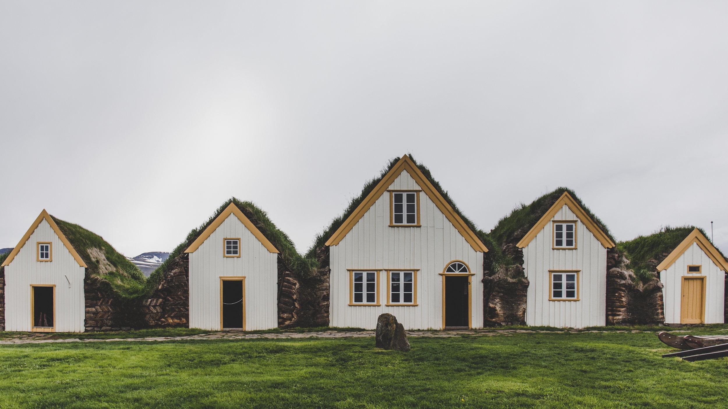 Turf houses,Glaumbær