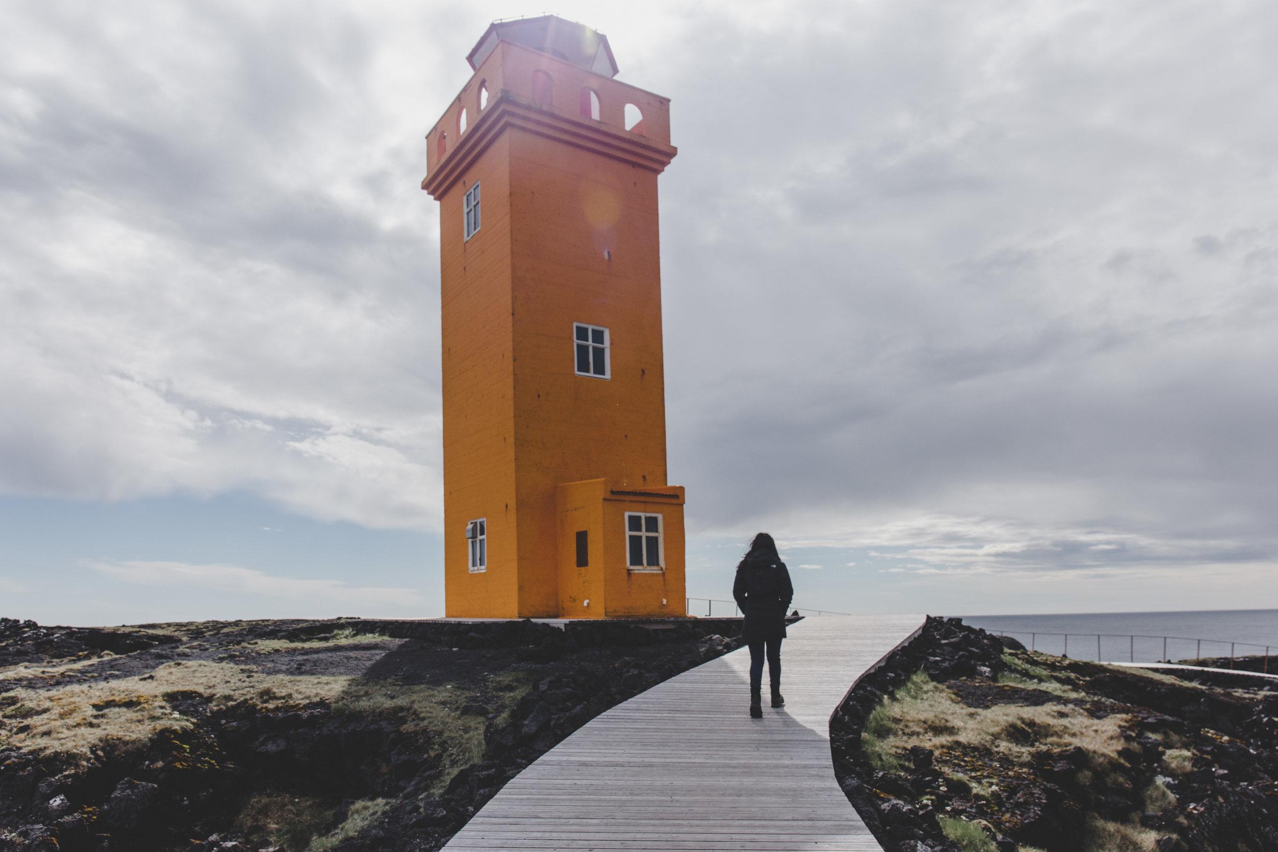 Richa @Svörtuloft lighthouse