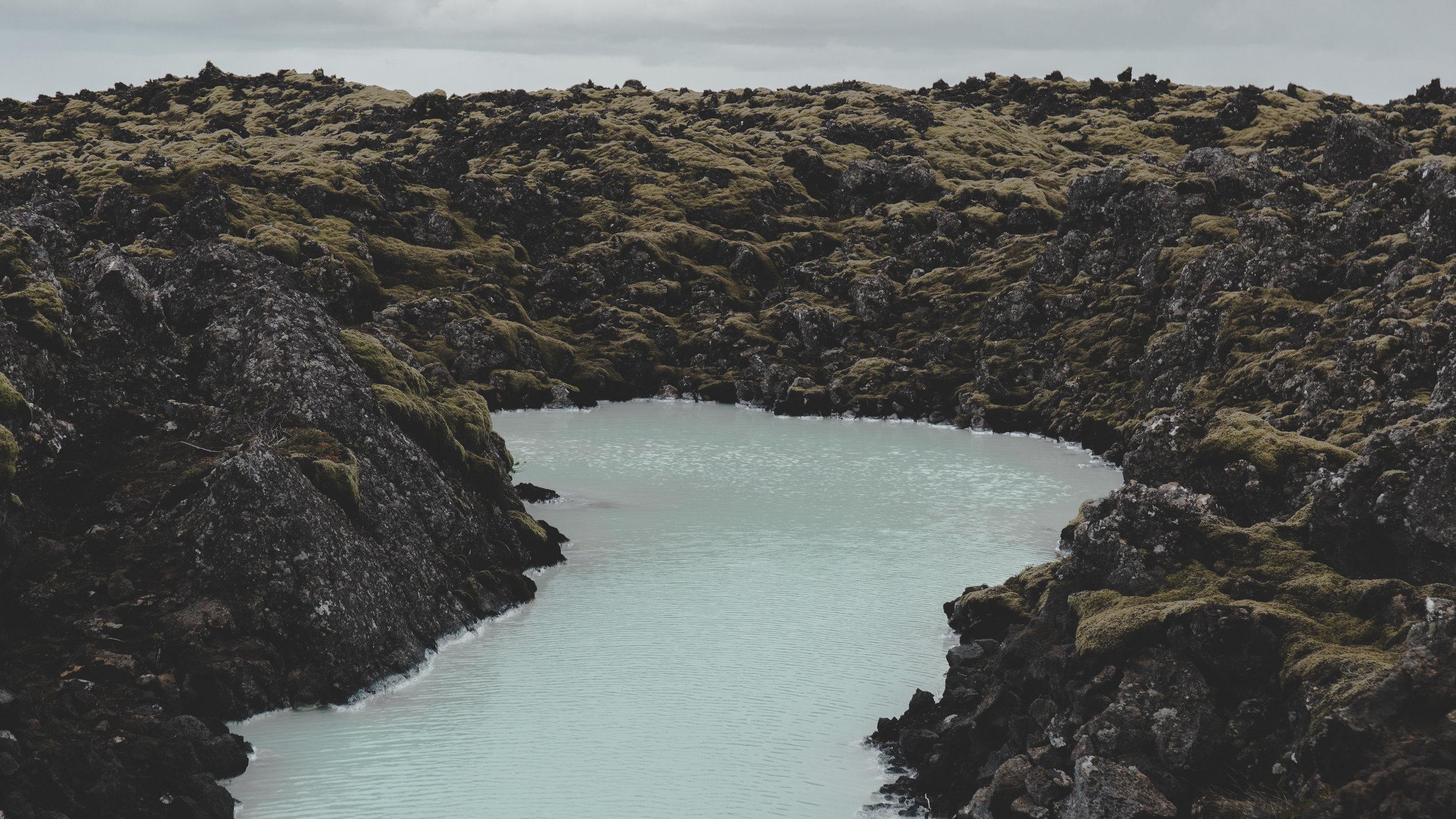 Area around Blue Lagoon