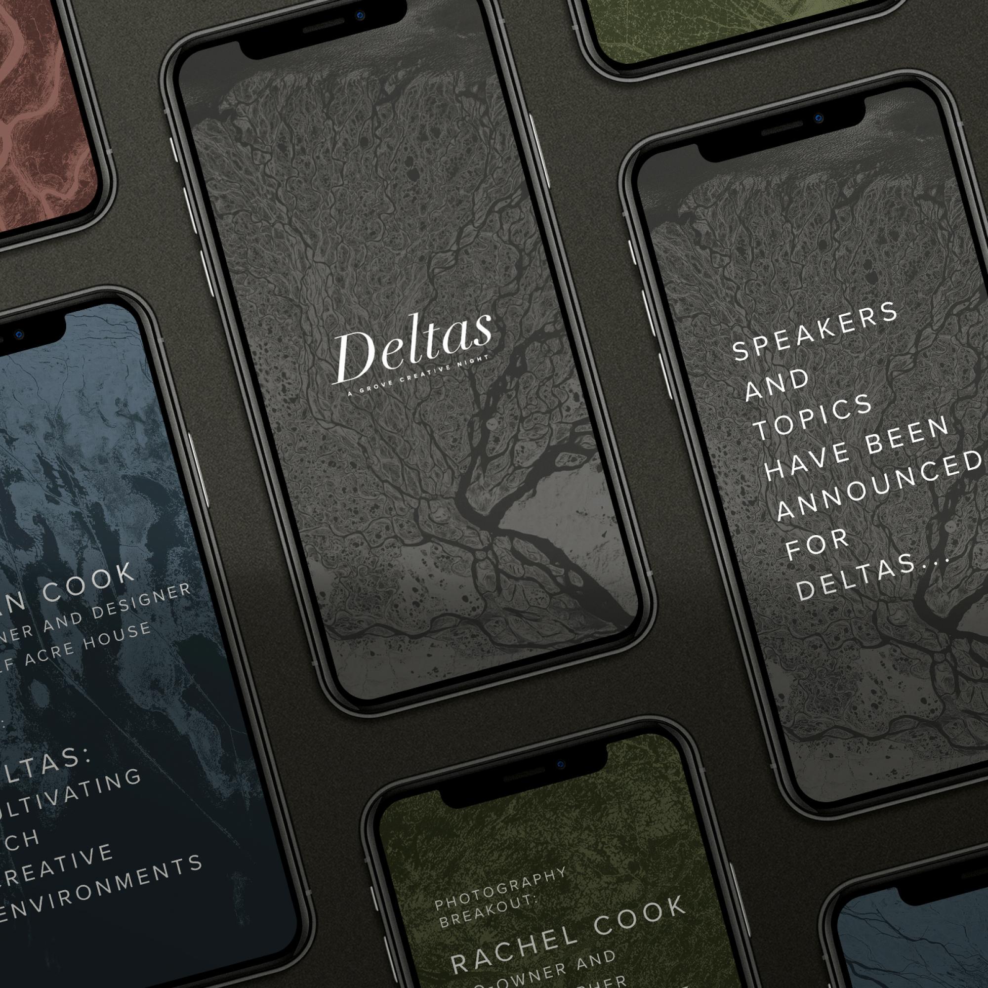 Deltas | Branding + Social
