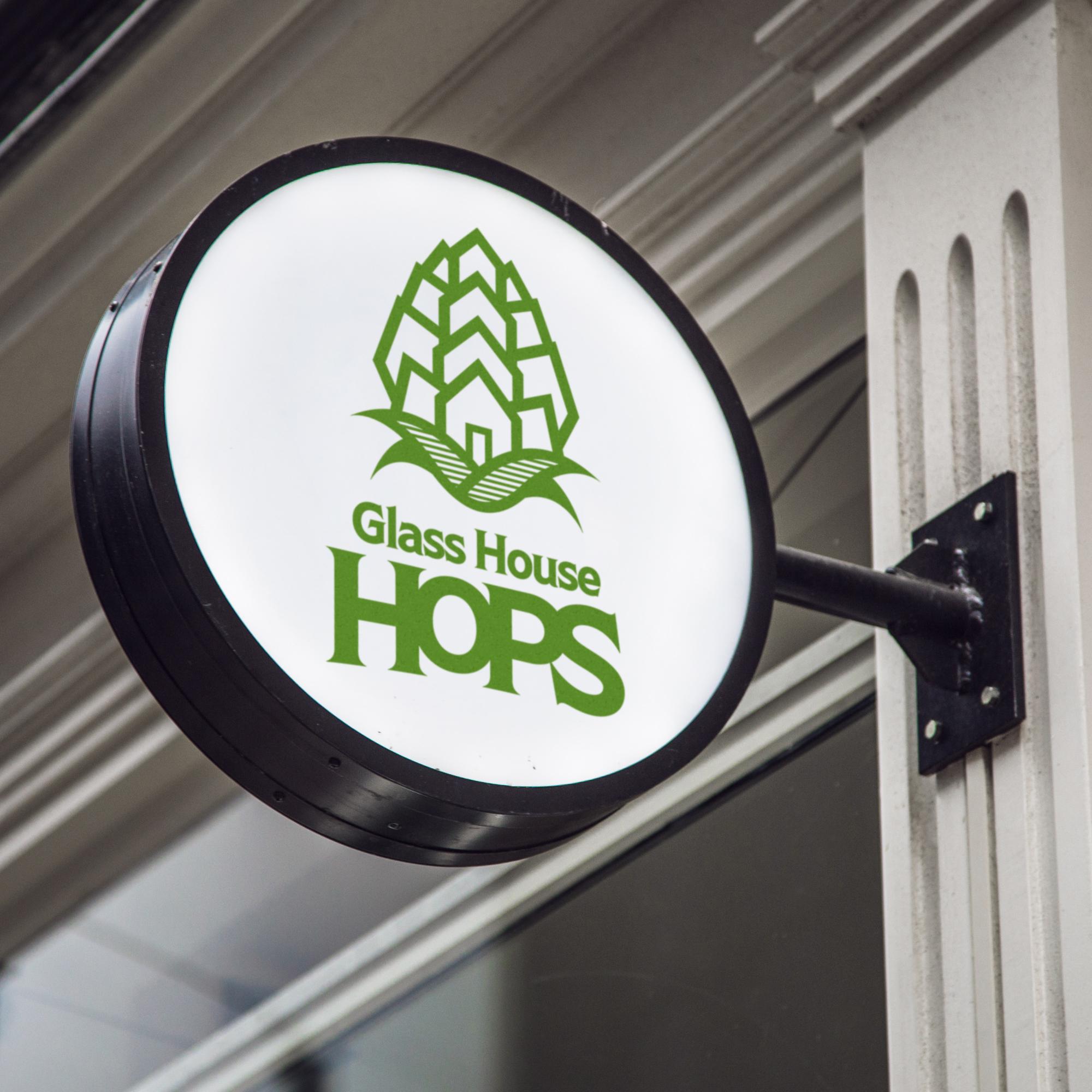 Glass House Hops | Branding + Print