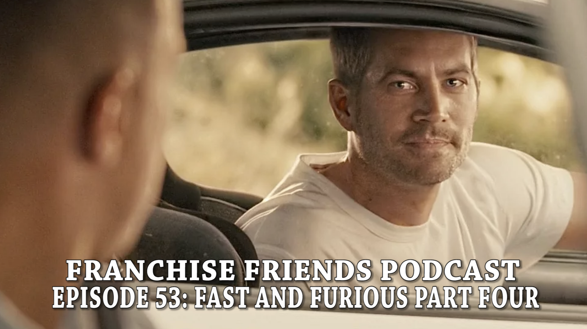 fast and furious franchise friends paul walker