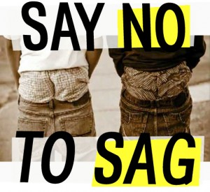 Do they not only look dumb, but reduce your IQ to your waist size?     Can sagging pants lead to cognitive decline?    There are a number of papers being written about gait changes (step length, frequency, speed)   being indicative of cognitive decline (see  here  and  here  for 2 of them).   Wearing sagging, baggy pants has many associated issues (see here for our recent post on that). Can the reverse be true? Can creating a smaller step length cause cognitive decline?   Neurologically, we know that the cerebellum is involved with learning. Balance and coordination tasks improve learning. Yes, it is better to have have your kids banging and climbing on the TV, rather than being passive and watching it.   This is probably due to muscle and joint mechanoreceptors being activated, and that information traveling northward in the spinocerebellr tracts which feed to the flocculo nodular lobe and cerebellar hemispheres. Here they interact with converging input from all the other systems (vision, hearing, and probably smell), as well as descending motor information from your motor cortex. They are processed and then redirected to the areas where they came from, as well as to systems which project that information to many places, including, you guessed it, your temporal lobe (memory), parietal lobe (special integration and discrimination) and frontal lobe (personality and motor activity).   So, what happens when you slow or decrease information to the cerebellum? What happens if we don't use neurons? They degenerate, or are remodeled into something else as the pathways slowly grow over and are replaced by other information your brain sees as more important.   Could decreasing your step length, altering and/or diminishing proprioception affect cerebellar output?  Yes.  Could this affect your ability to learn and remember?  Yes.  Could this lead to cognitive decline?  Conceivably…    We think you know   where we stand on this. Think before you sag…while you still can    The G