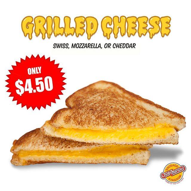 Say cheese! 🍞🧀🍞😁 @jodymaronis #jodymaronissausagekingdom #grilledcheese #grilledcheesesandwich #cheese #venicebeachboardwalk #venicebeach #venice #losangeles #munchies #lafoodie #