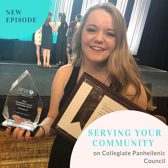We're back! ✨Check our our latest episode featuring collegian Serena Paulson who serves as VP of Risk Prevention on her Collegiate Panhellenic Council.  Serena shares how her sorority leadership positions prepared her for this role, what she has accomplished for her community, and what she's learned from the experience. Serena also offers advice for women considering running for a Panhellenic council position.  Share with us what advice from Serena most resonates with you! 👇  #panhellenic #livingpanhellenic #riskprevention