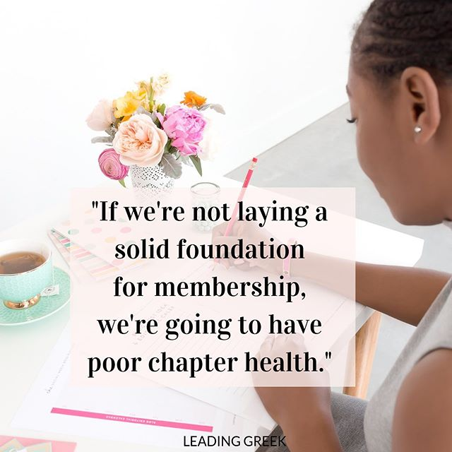 Meaningful new member education is critical to chapter health. This is our opportunity to invest in our members and influence the direction we will go.  Do you know enough about today's students? Are our new member education programs built for them?  Learn more in our latest episode of @leadinggreekpod in your favorite podcast app or link in bio 🎧  #sorority #highered #genz