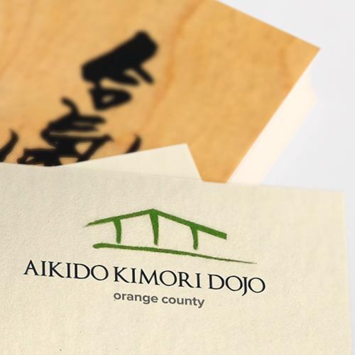 Aikido Kimori Dojo   Brand Identity