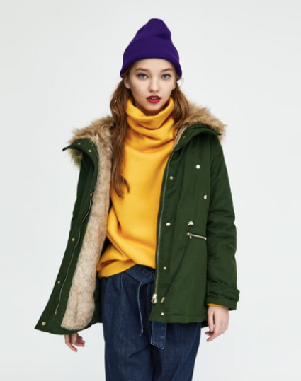 HOODED PARKA  $69.99