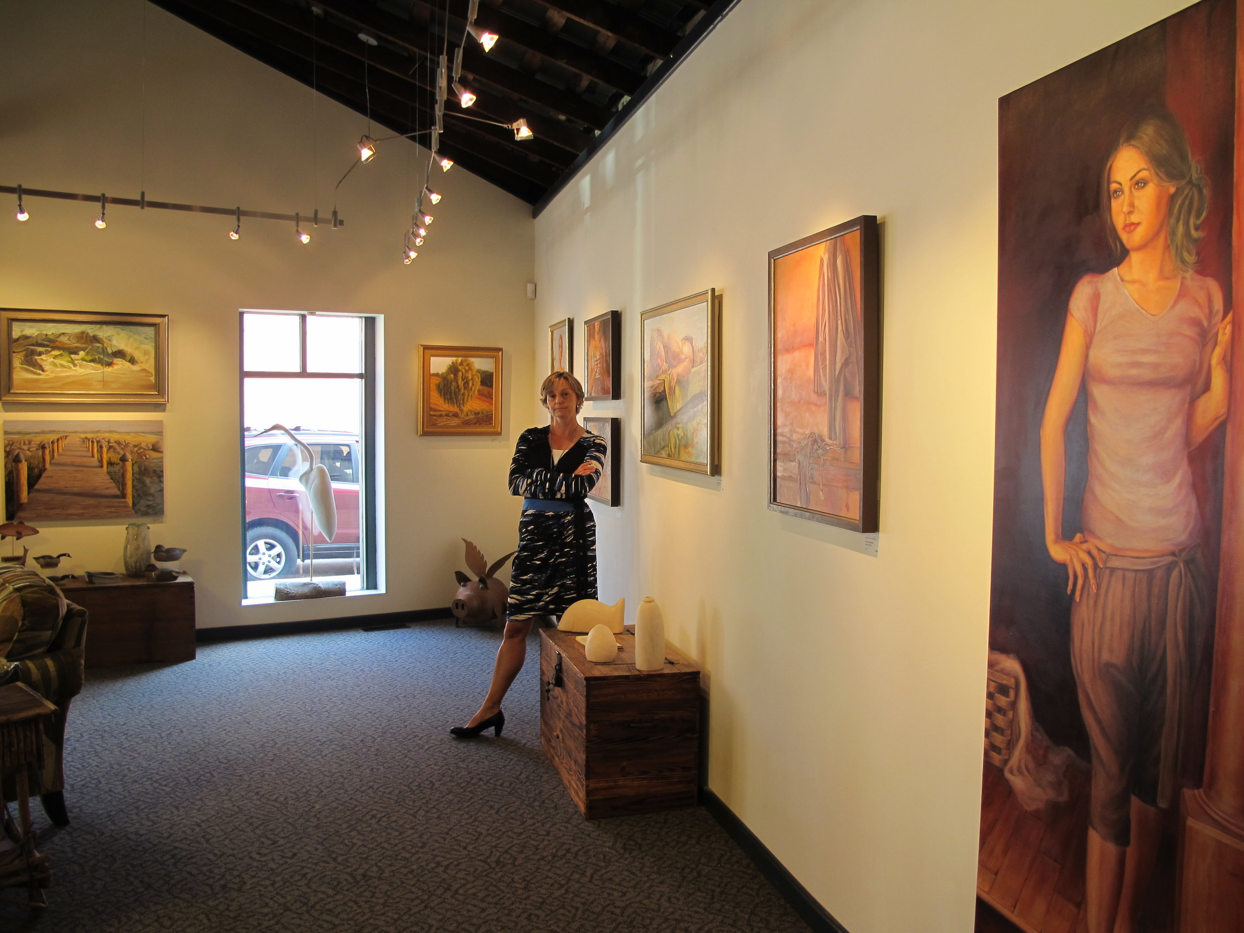 2011 Solo Show at Bishops Stock Fine Arts Gallery in Snow Hill, Maryland