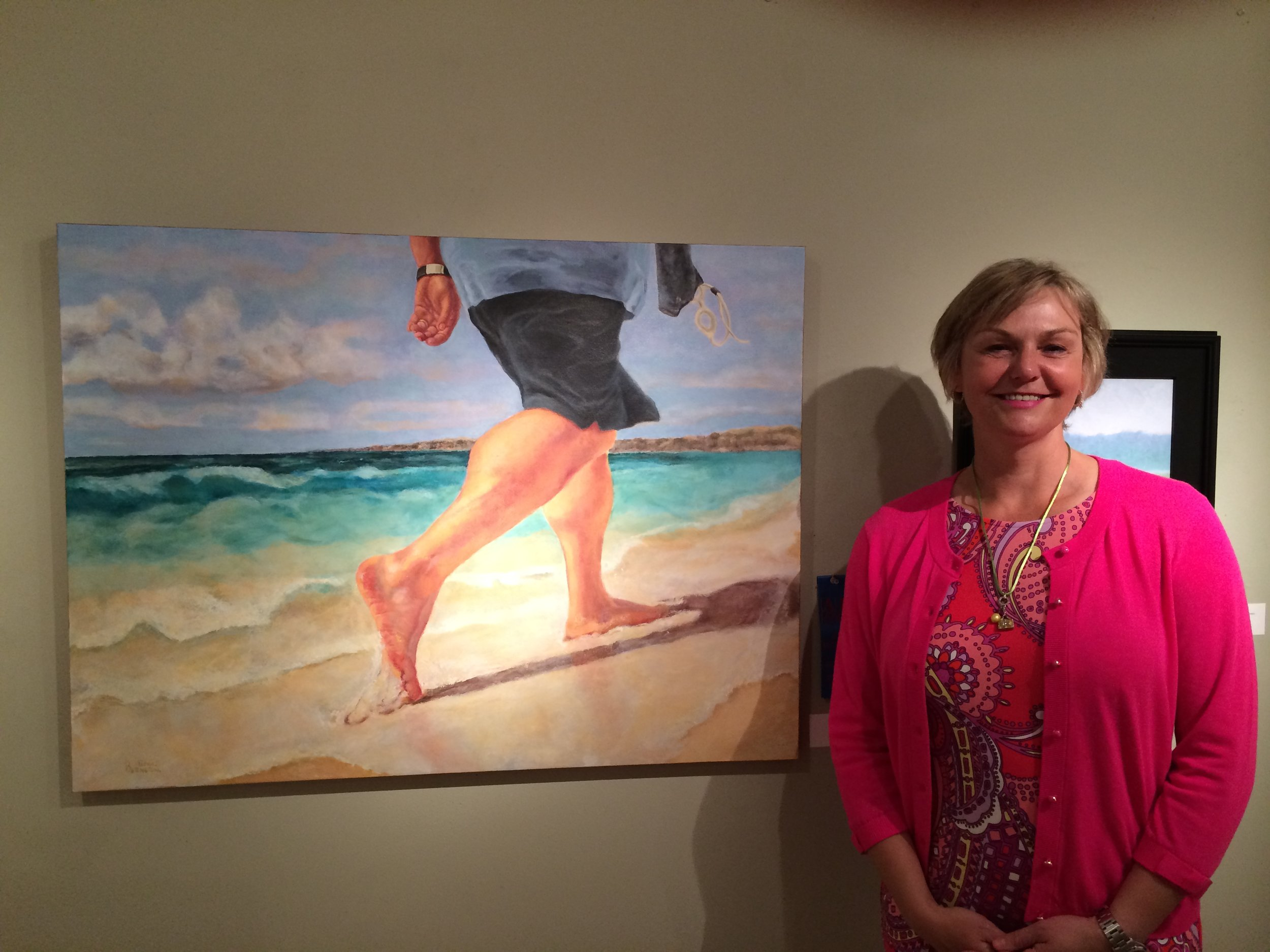 "2014 Best in Show at the Member Show at the AI&G, Salisbury, MD for ""Free On Friday"""