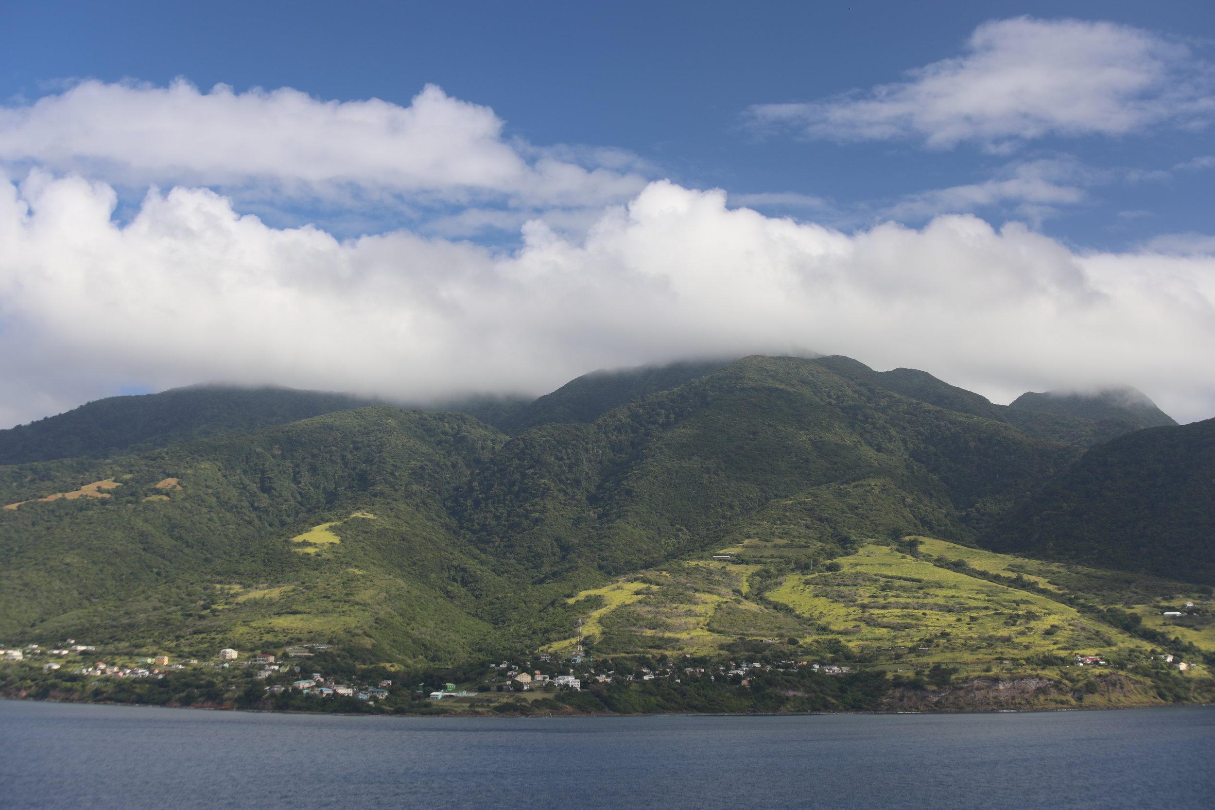 Green Island Of Saint Kitts