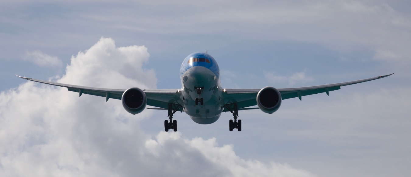 KLM Landing In Saint Martin