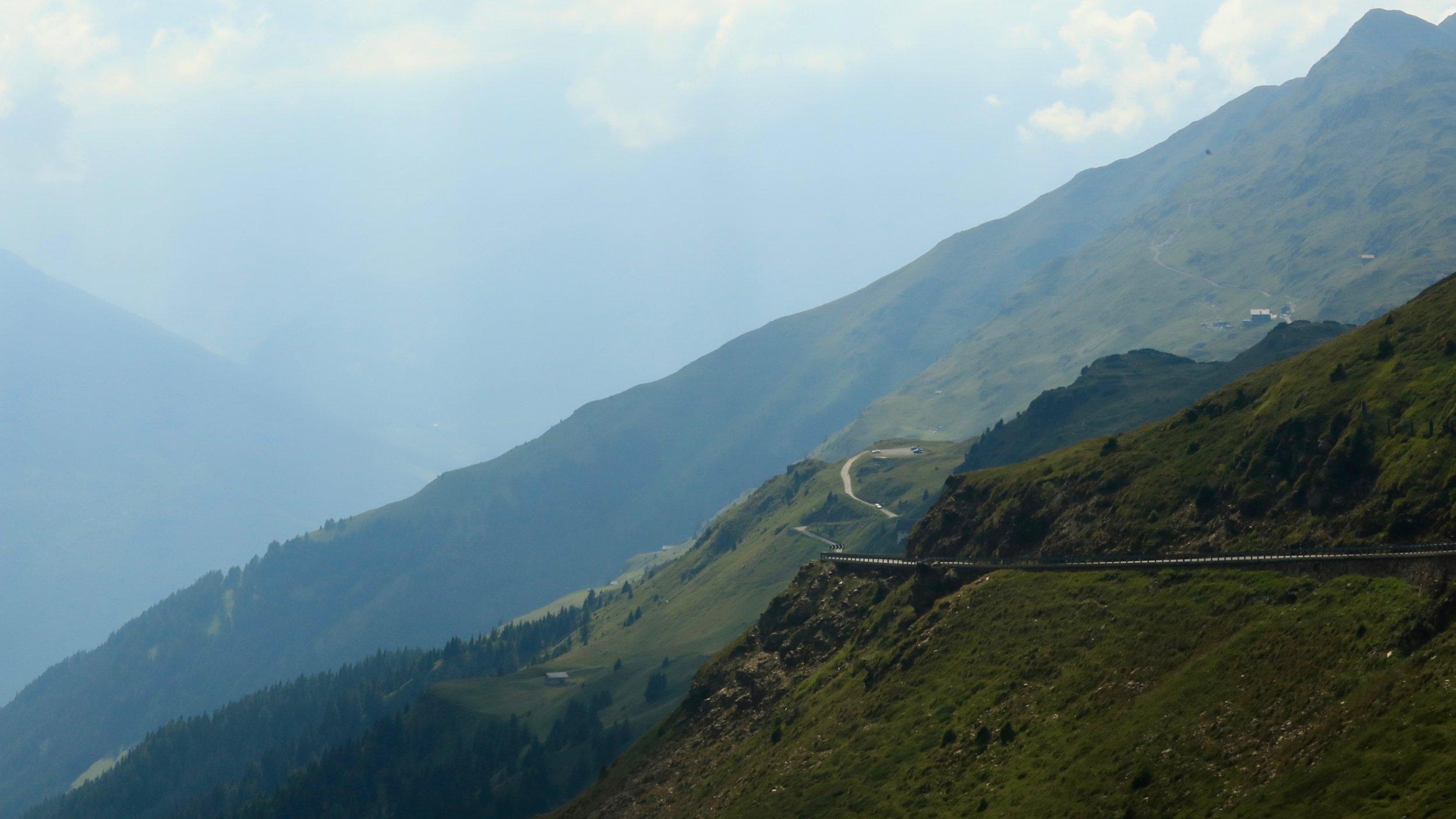 Jaufenpass in Südtirol