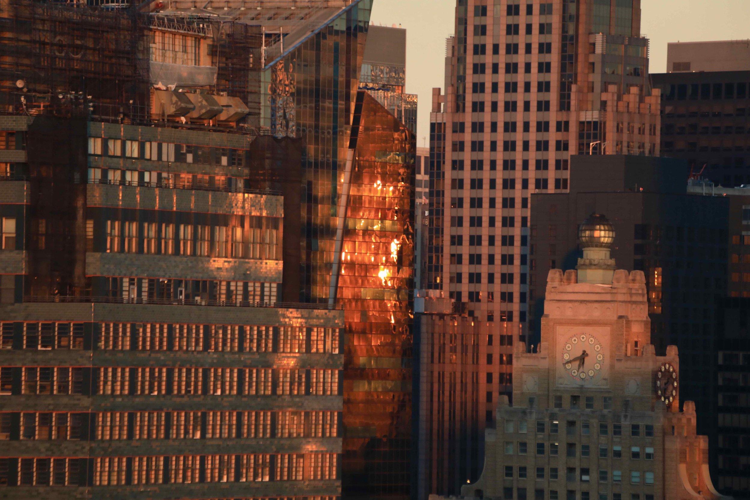 6:41pm in Manhattan