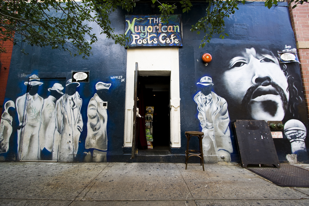 The Nuyorican Poets Cafe. Credit: John Williams
