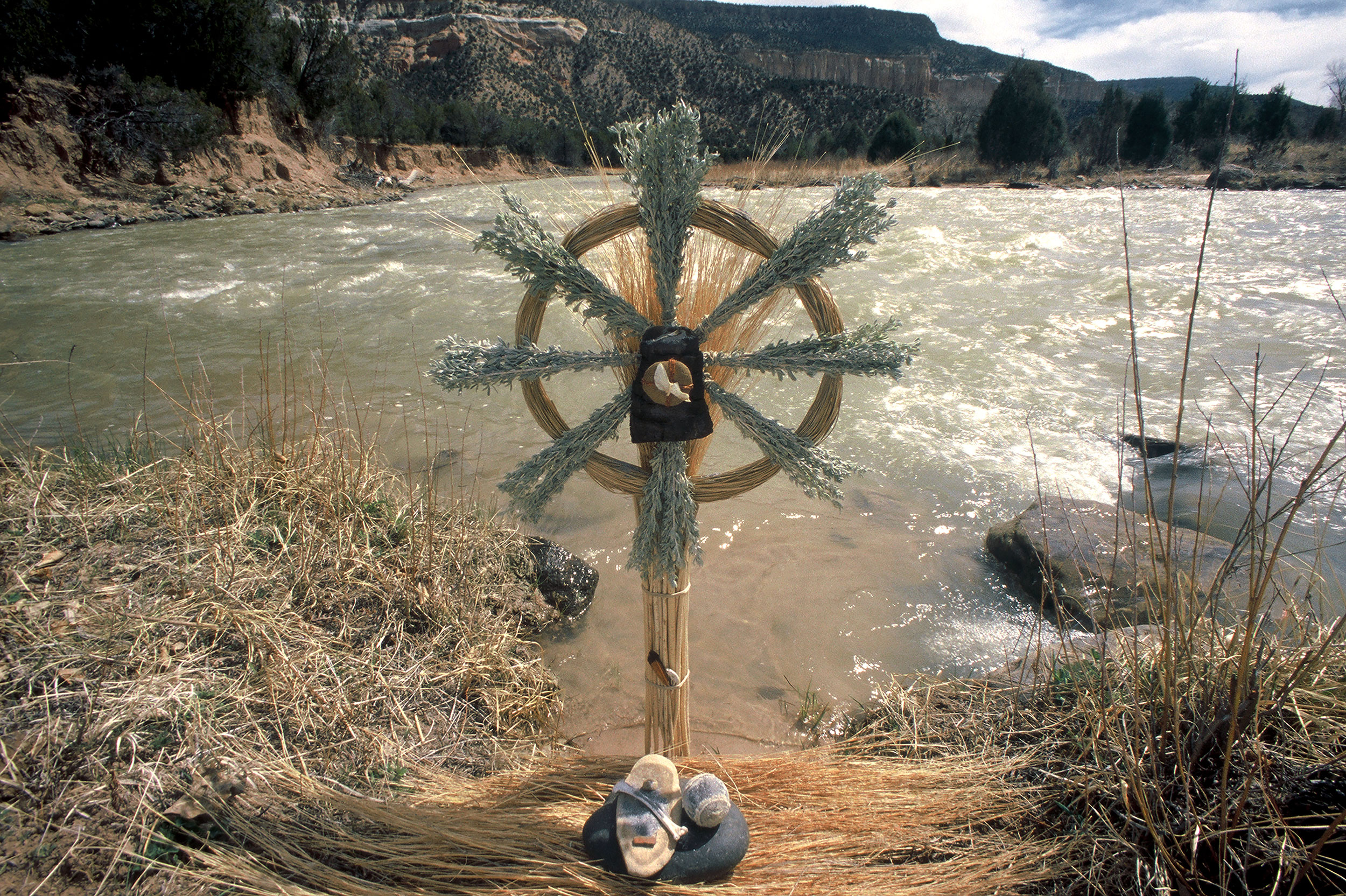 Chama River, Christ in the Desert Monastery, NM