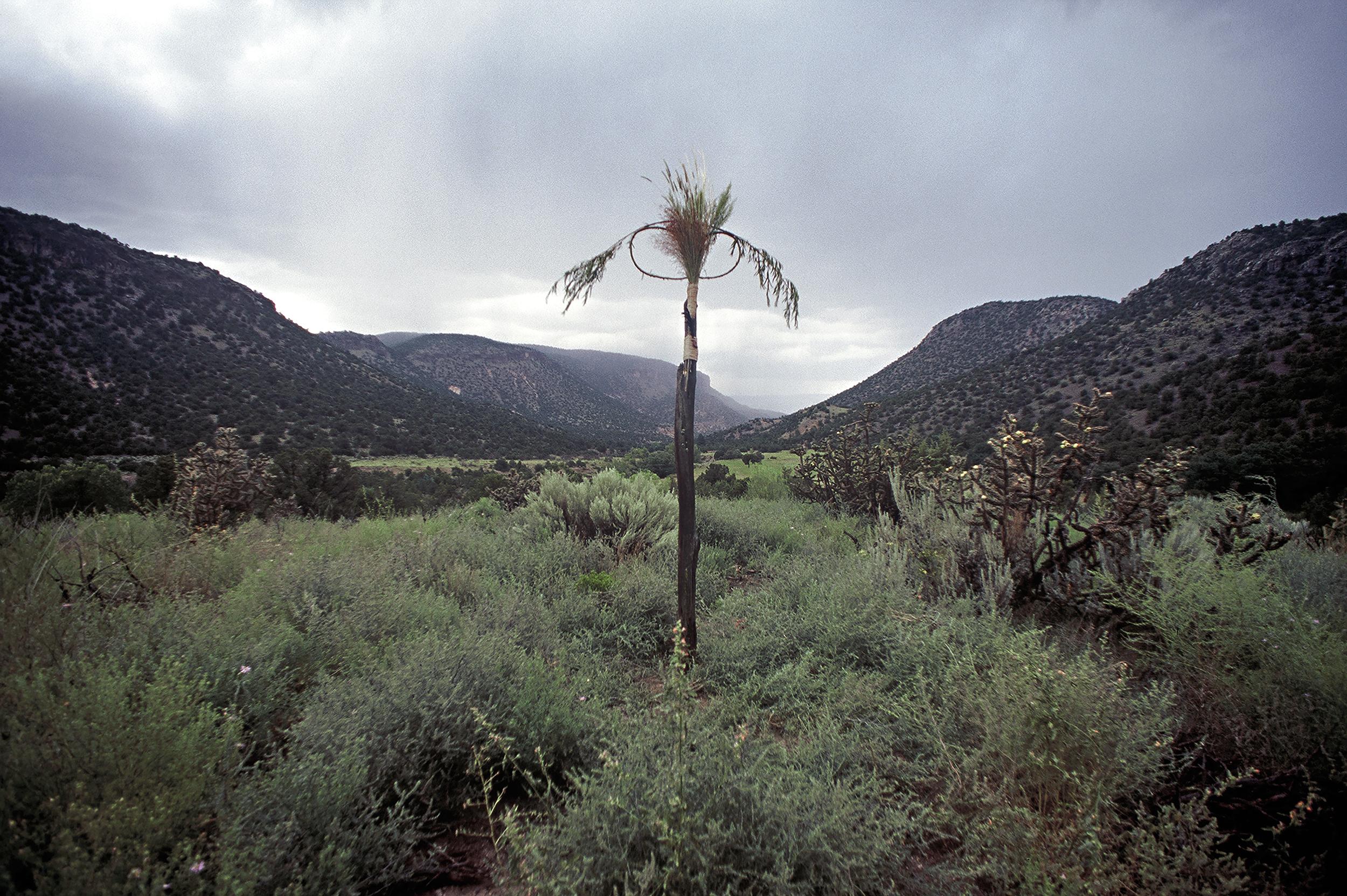 Spirit Mound, Rio De Los Frijoles, near Abiquiu, NM