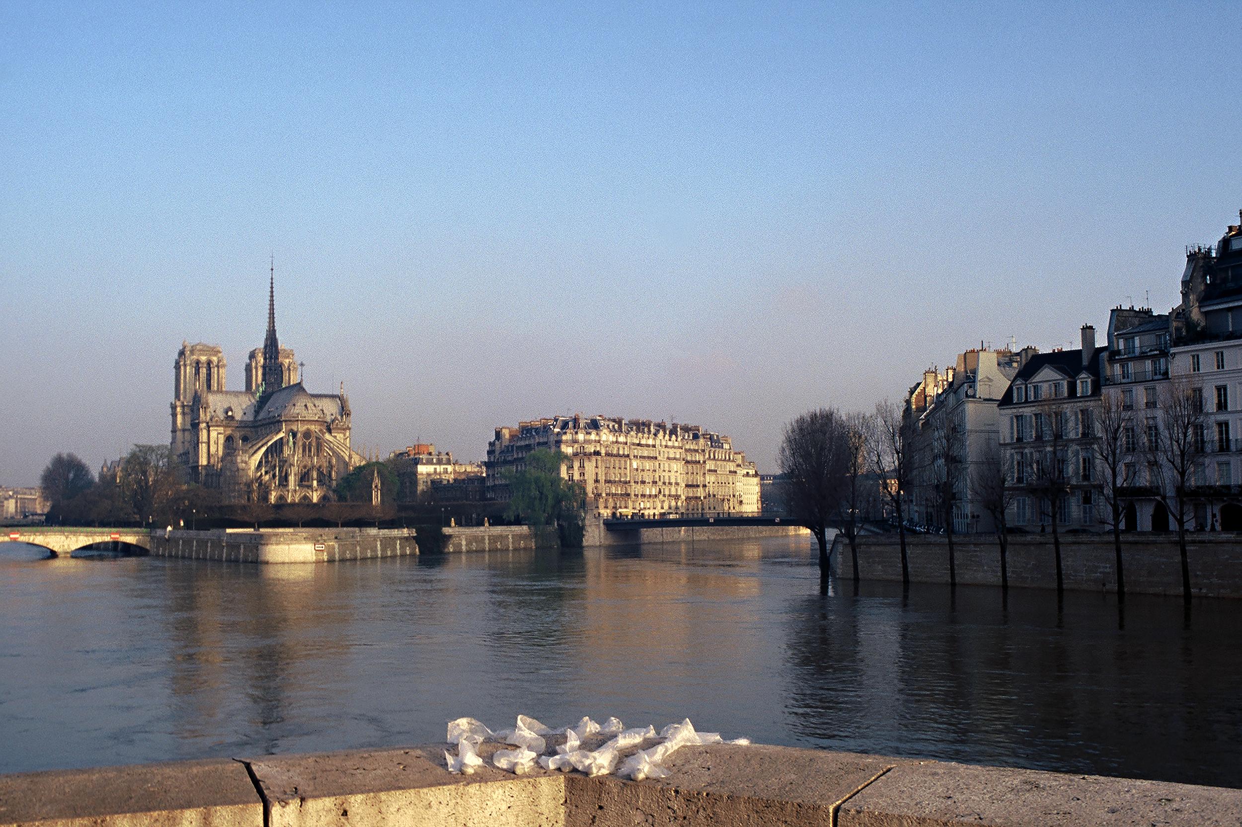 To the Seine River, Paris, France