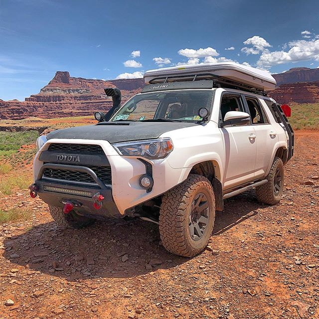 Tuesday has us missing Moab.