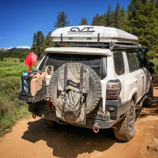 What's in the @blueridgeoverlandgear Spare Tire Bag? Wrong answers only...