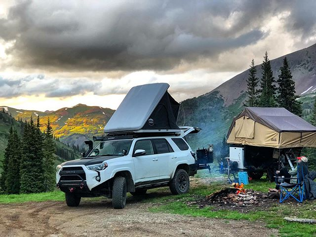 Some campsites are better than others!