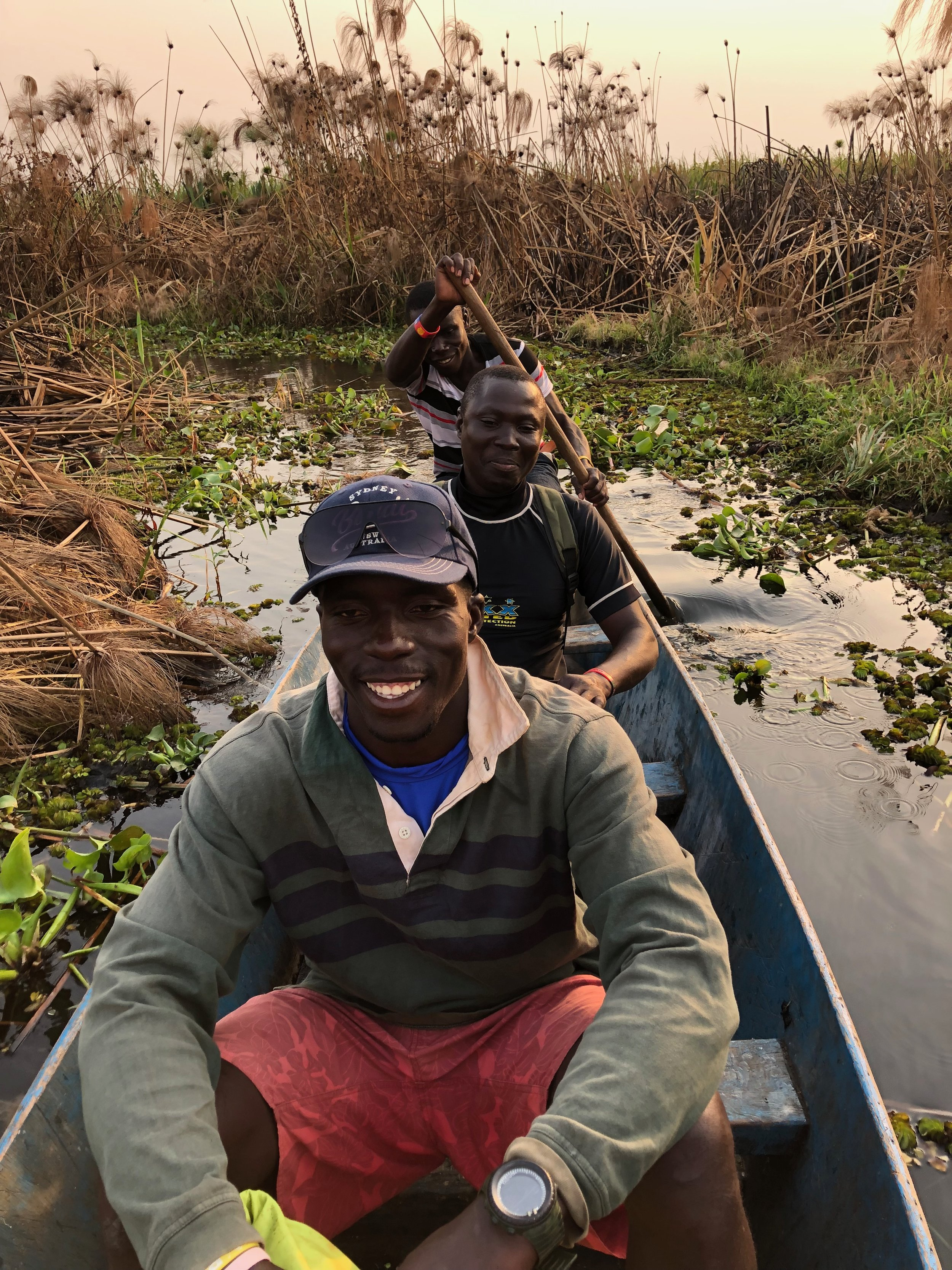 KOA  Another highly experienced rafting guide. He's won the Nile river festival endurance race taking on some of the most dangerous rapids on the river. Knicknamed the water adder on the trip he did a lot more than stop the rice from burning! -