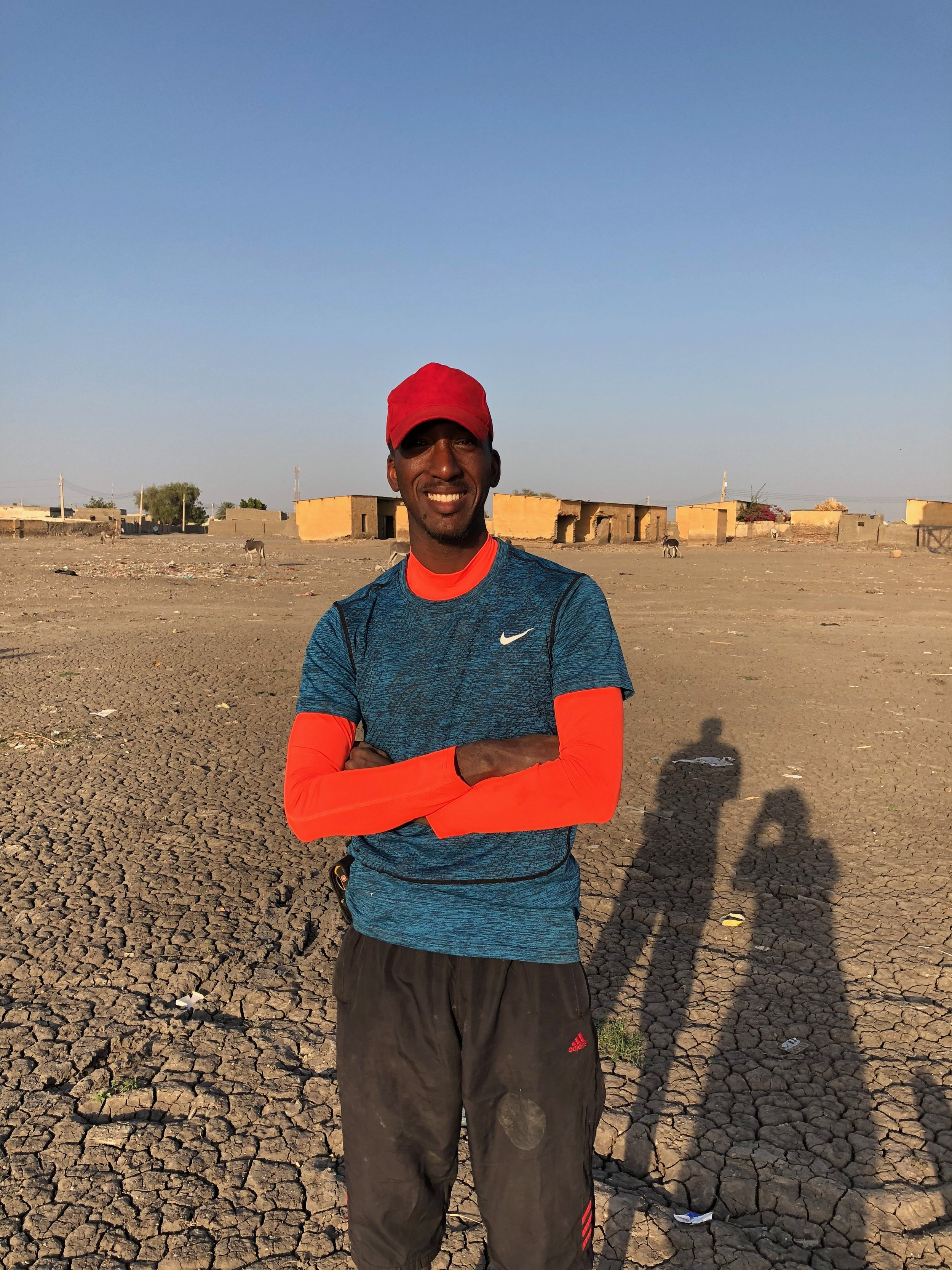 BUSATI  One of Sudan's elite kayakers who kindly agreed to join the first part through Sudan. A kind, funny guy, he tried to teach me some Arabic. He underestimated how terrible I am at learning languages! -