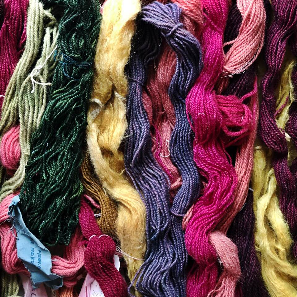 Beginner Natural Dyeing Workshop - Join us for this hands-on experience. Learn how to identify and harvest natural dyes, how to extract their vibrant colors for use on animal fiber.