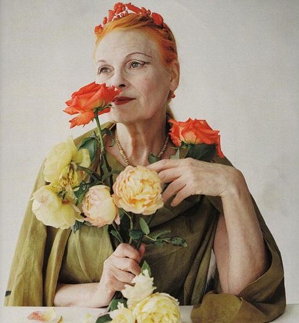 Happy International Women's day to all the Queens. Here is one of our biggest inspirations, in attitude and in style, Our girl, Dame Viv. #vivianwestwood  photos by #timwalker #jillianedelstein #internationalwomensday