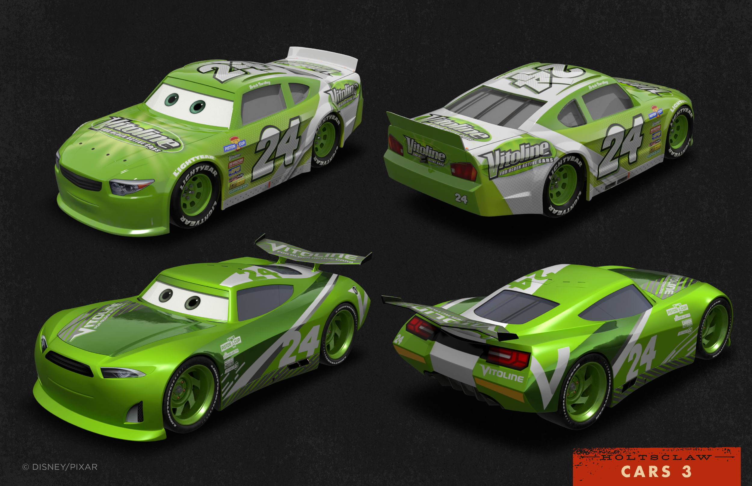 The Graphic Art Of Cars 3 Josh Holtsclaw