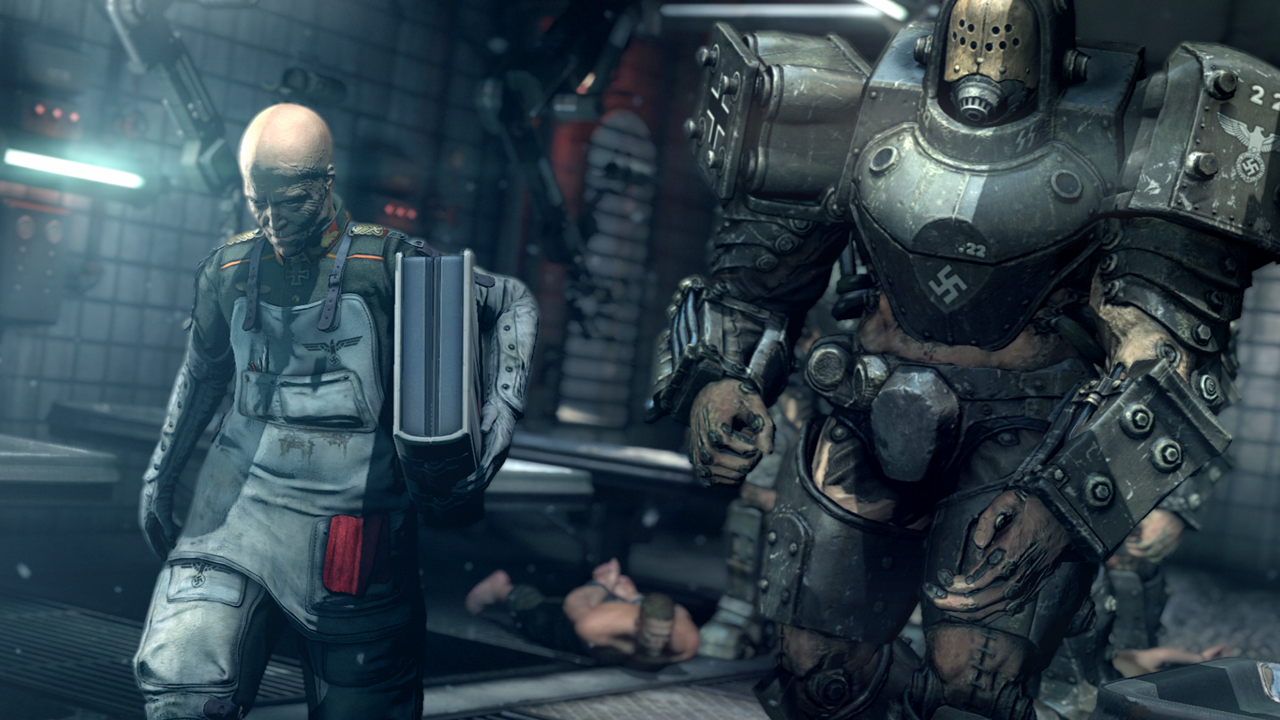 image still from Wolfenstein: A New Order game