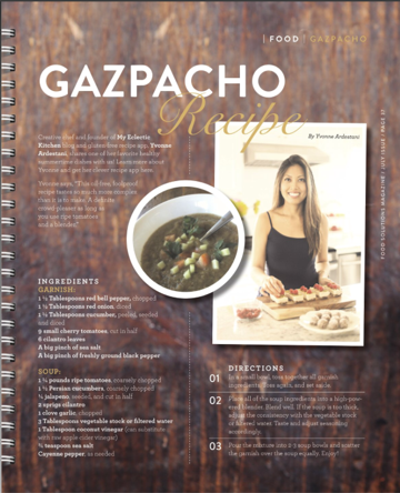 July 2014  Recipe featured on page 37