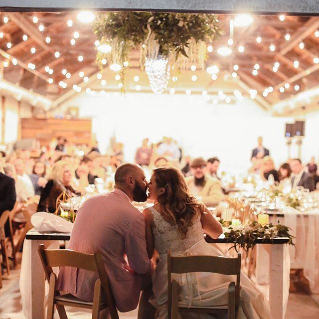 Picture perfect moments and this sweetheart table showcasing all the love!  Photo by @heidimichellephotography