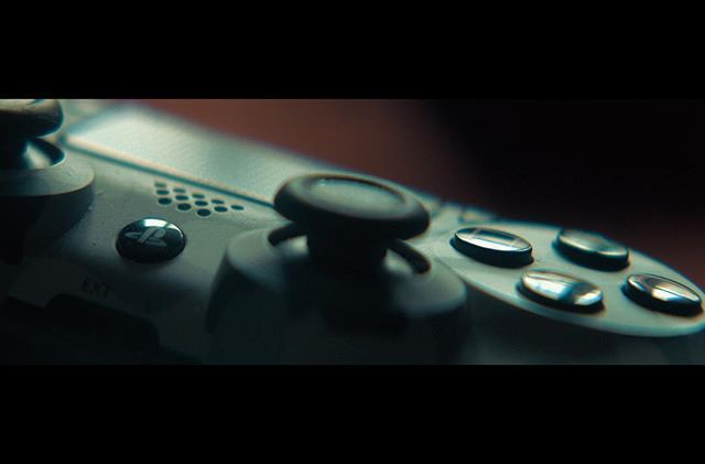 Seeing things from up close. . . . #film #filmmaking #yeg #yegfilm #ps4 #gaming #photography #naturallighting #closeup #controller #movies #dramatic #director #cinematography