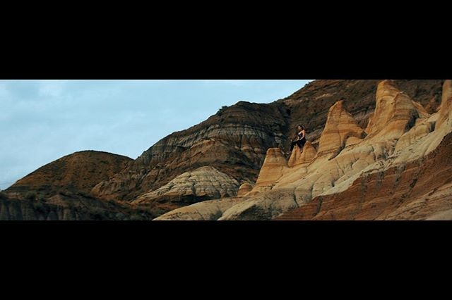 Looking forward to many opportunities this spring! . . . #film #yegfilm #filmmaker #cinematography #photography #badlands #views #alberta #drumheller #movies #moviemaking #yeg