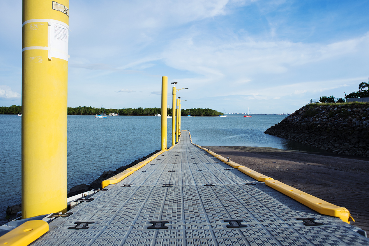 View Dinah Beach Boat Ramp Pontoon Repairs project   here  .