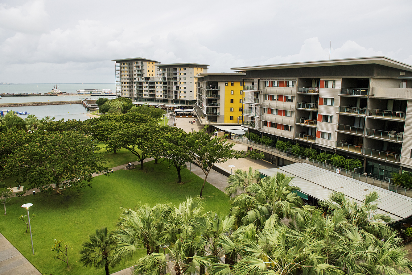 View our Darwin Waterfront Precinct project   here  .  We have been providing grounds maintenance since the area opened in 2009.