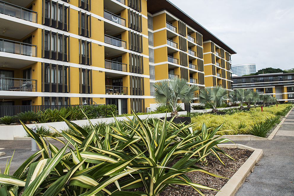View our stage 2 Darwin Waterfront Precinct   here  .  Stage 2 Landscaping, Design & Construct. Master Builders Awards 2015 finalist - $50M development category.