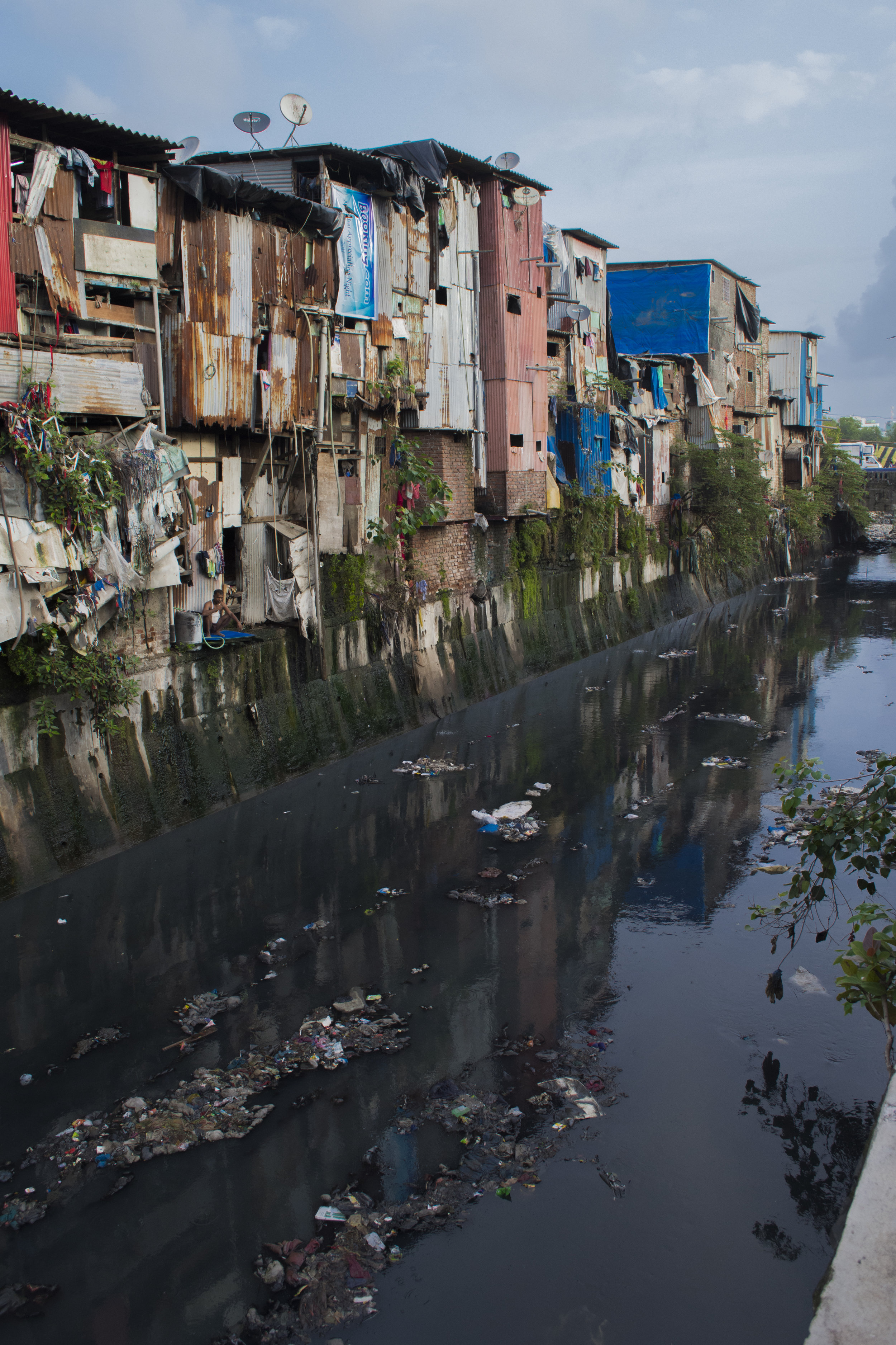 Thatched Slums