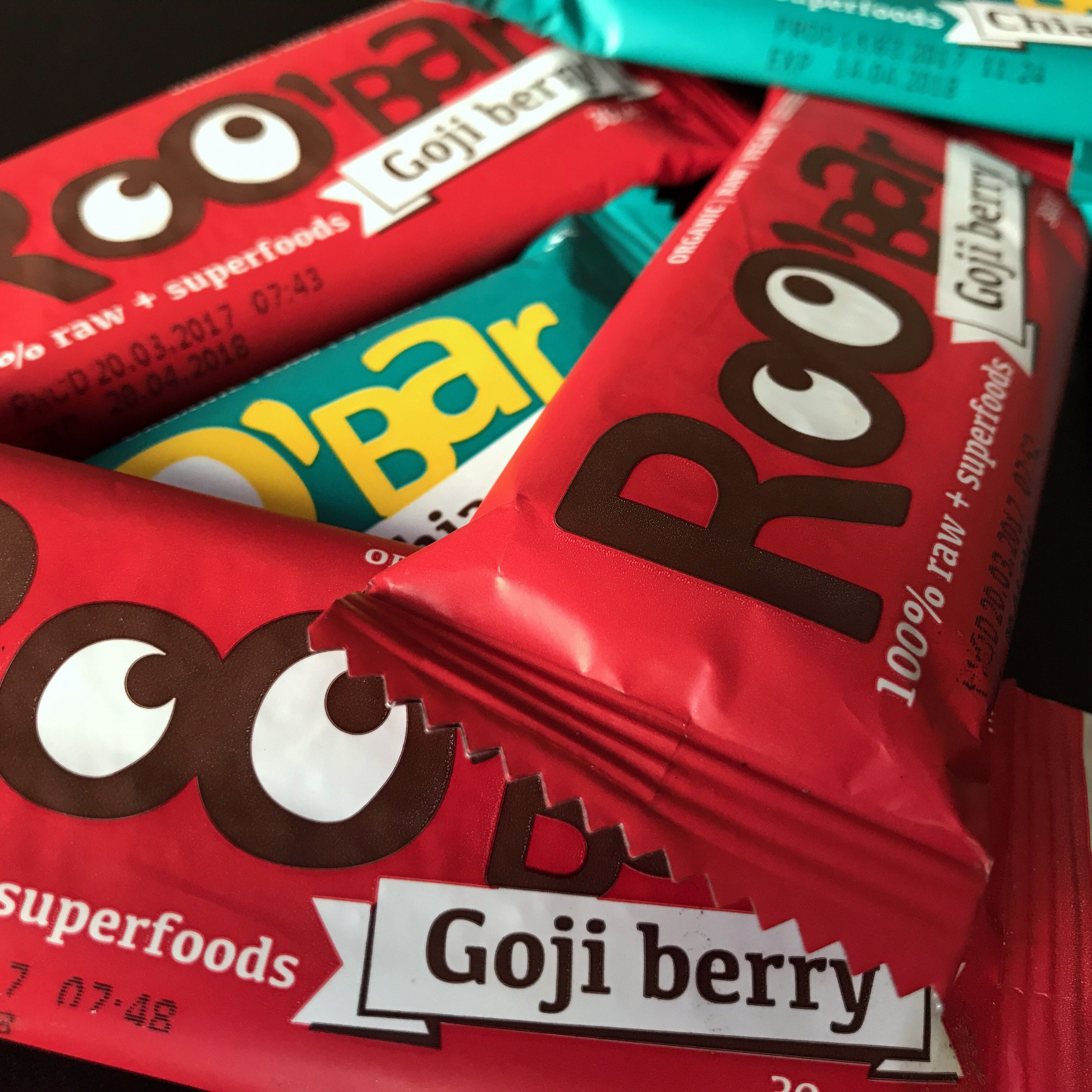 Roo Bar - Each bar is packed with superfoods to boost your body and mind with maximum nutrients.
