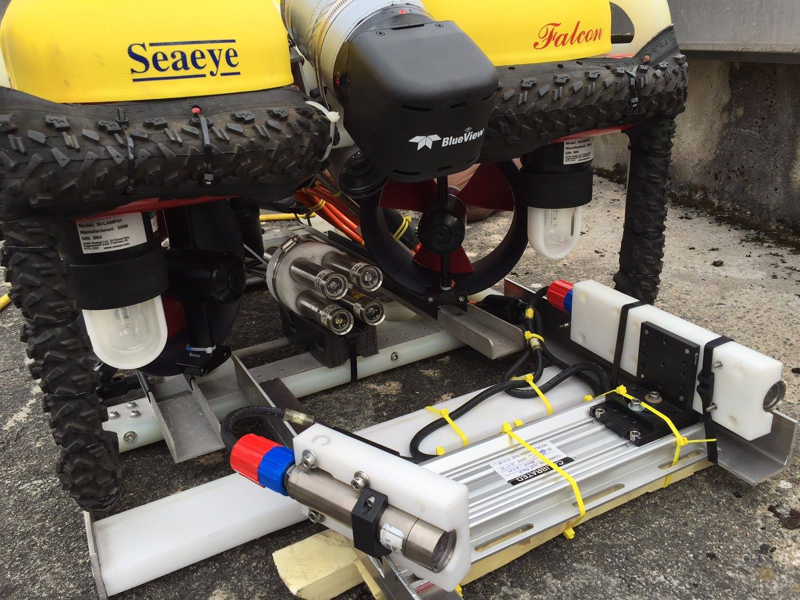 Savante's SLV-50 Subsea Laser profiler used to inspect hydroelectric dam