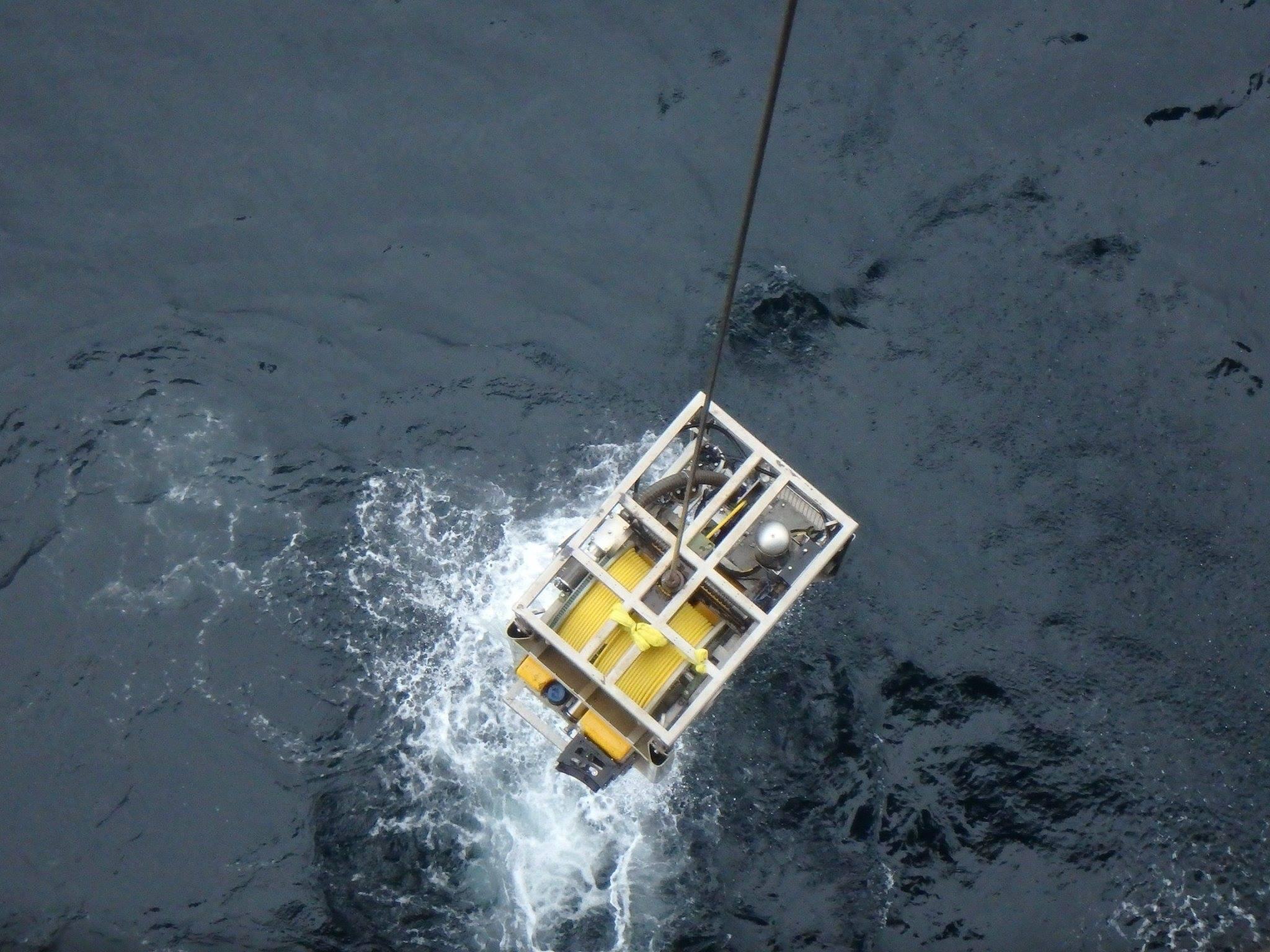 Savante Subsea and Underwater Lasers SLV50 laser caliper mounted on Falcon ROV 6.jpg
