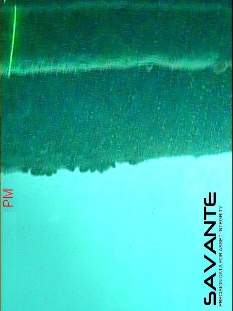 savante diver subsea laser measures platform anode dimensions