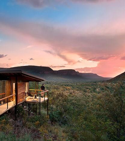 Via panoramique d'une chambre Marataba Trails Lodge