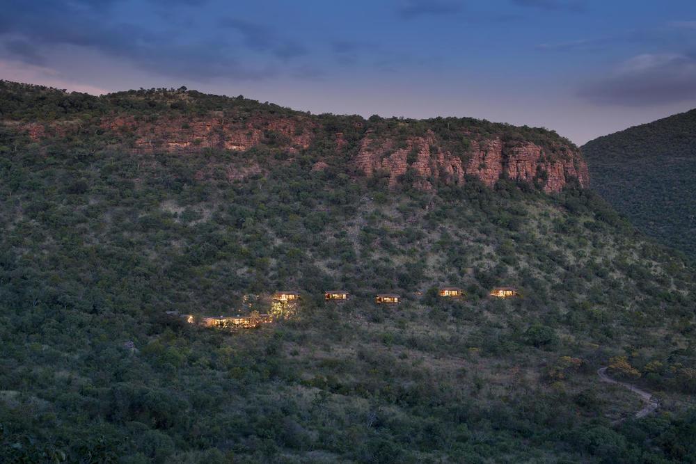 Vue panoramique Marataba Trails Lodge