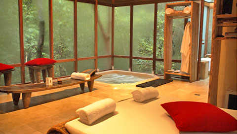 Jacuzzi Trogon House Forest & Spa