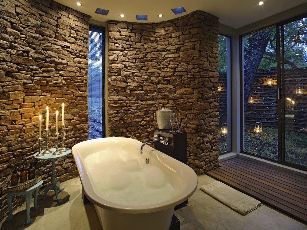 Salle de bains Réserve Privée de Phinda