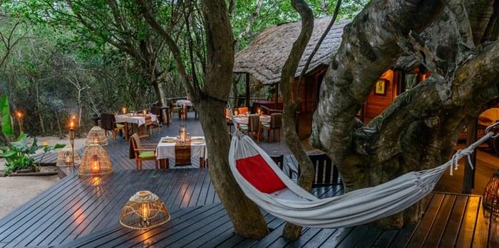 Terrasse Kosi Forest Lodge