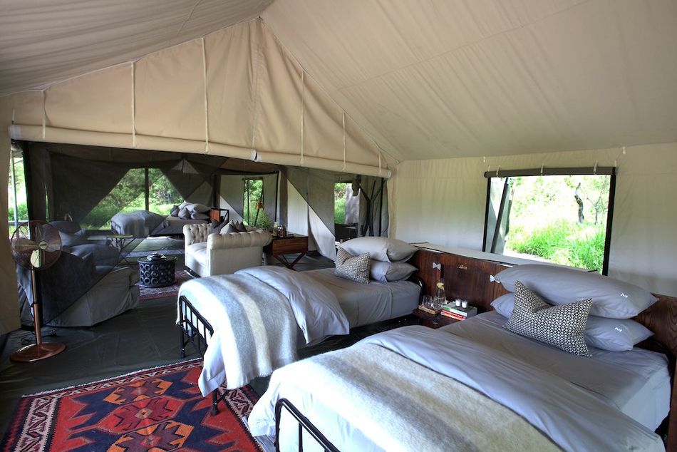 Chambre familiale Machaba Camp