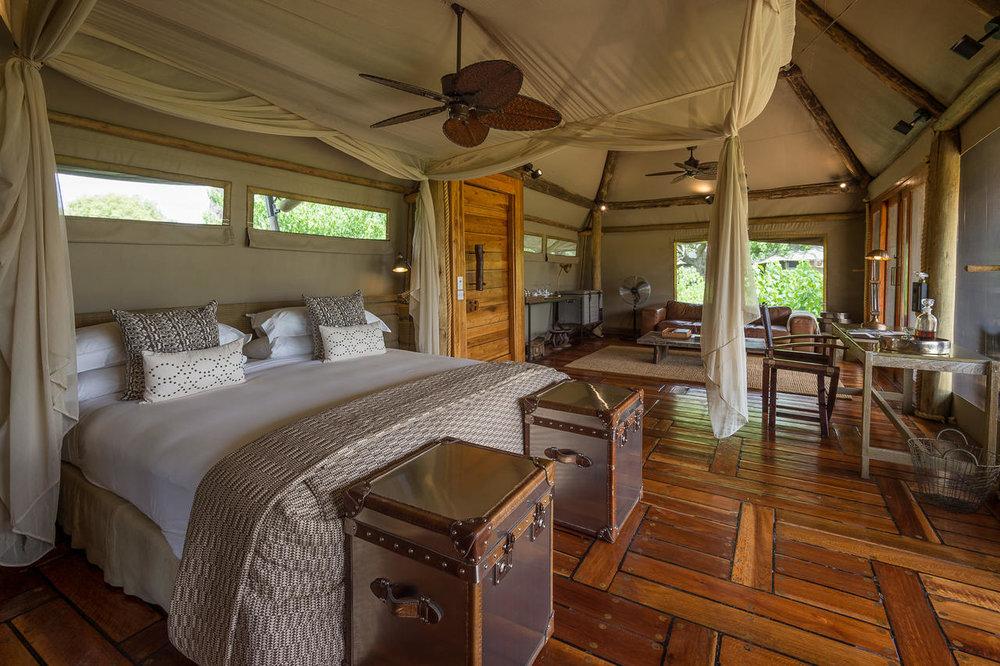 Chambre Mombo Camp